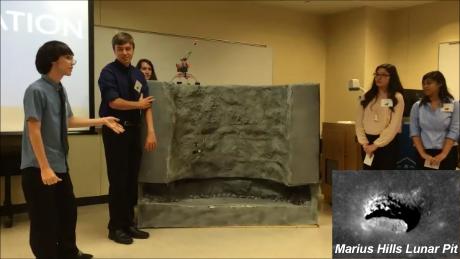 Marius Hills Lunar Pit Model