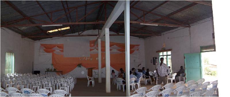 Inside Gatsata Hall