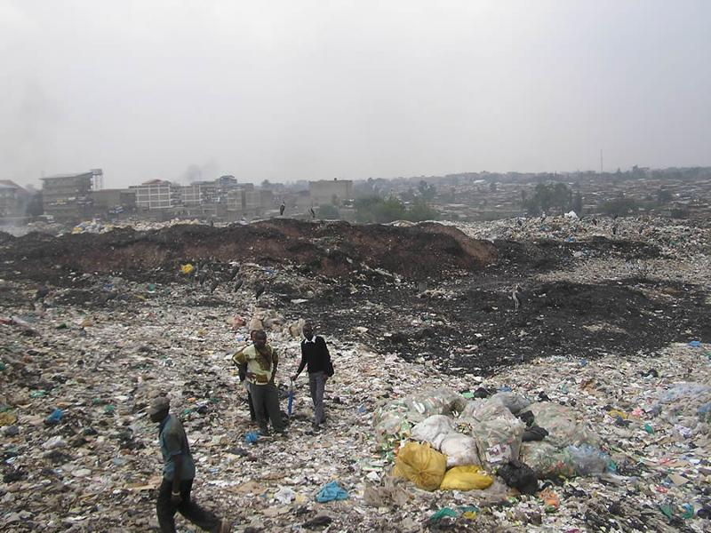 Dumpsite in Nairobi