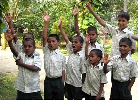Boys in India