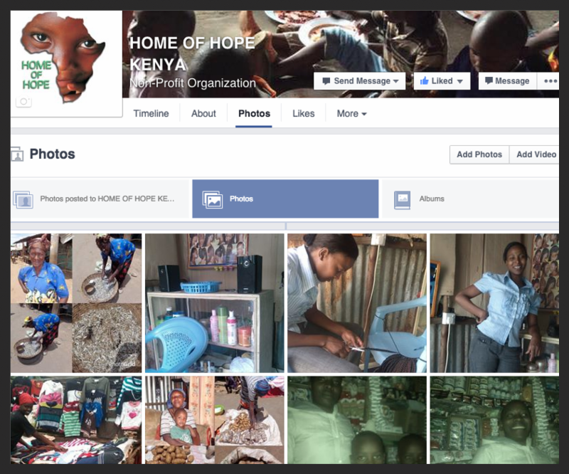 Home of Hope Kenya Facebook group