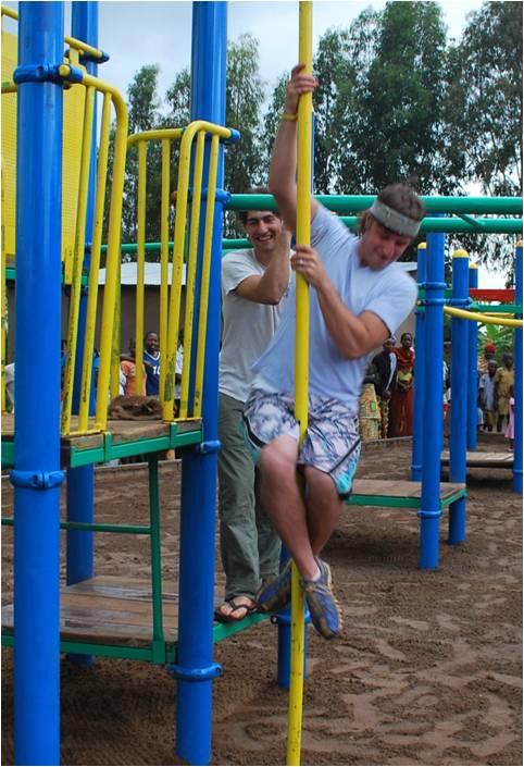 Brandon on Playground