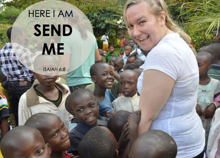 Here I Am - Send me - Missions Trips