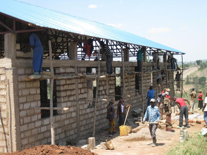 Buhoro walls construction