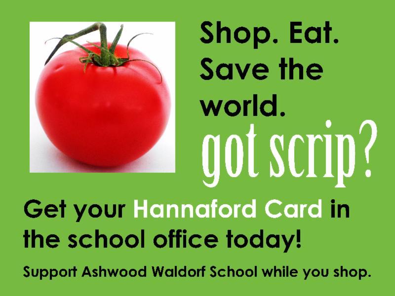 Hannaford Scrip