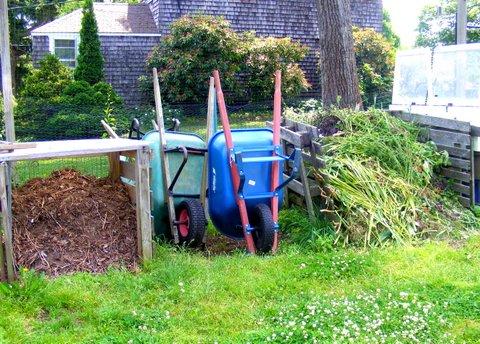 Wheel Barrels Compost Bin