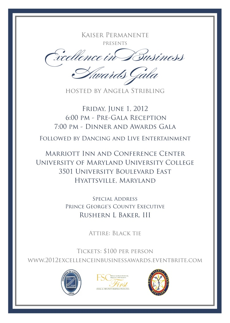 2012 excellence in business awards gala sold out