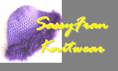 SassyFran Purple Hat