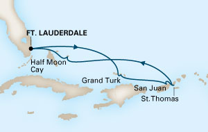 Holland America Itinerary 1