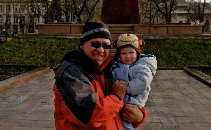 Stevie and Grandpa Steve