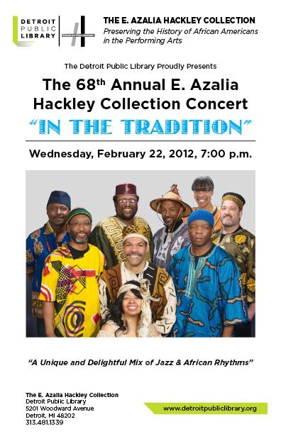 2012 E. Azalia Hackley Concert