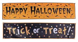 5 Foot Long Halloween Banner