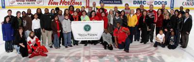 TechTown meets  Hockeytown