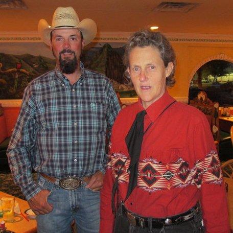 Dave Duquette and Temple Grandin