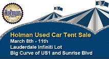Holman Tent Sale