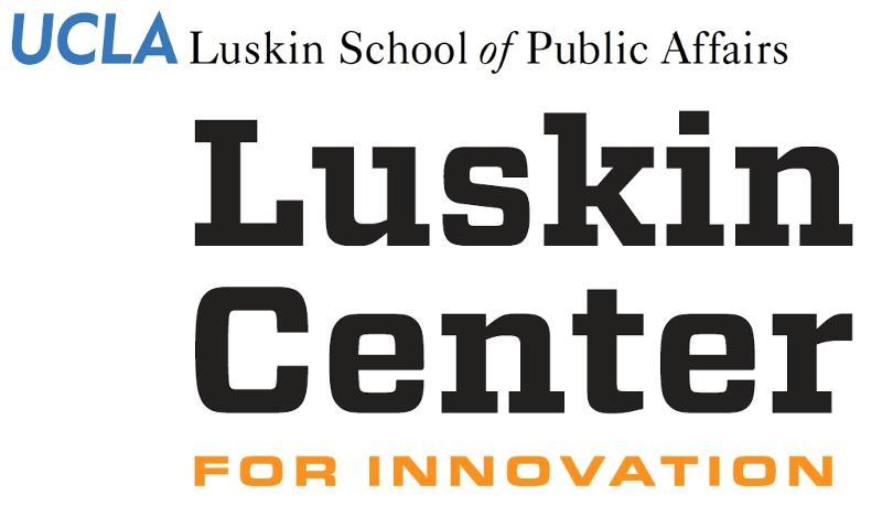 Luskin impact logo