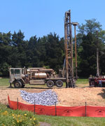 Tinker Hall drilling