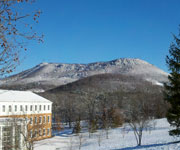 Hollins Tinker Mountain in winter