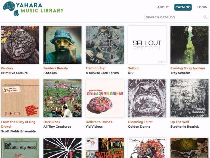 Yahara Bay music library home page