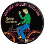 Neon Garden Geocoin