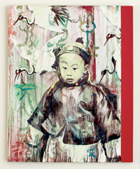 Baby King II by Hung Liu