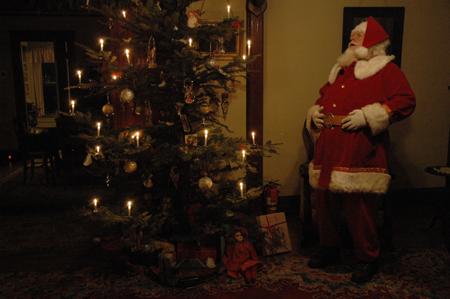 Gilbert House Santa
