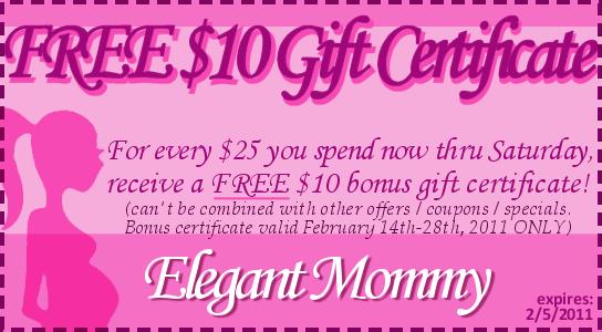 Elegant Mommy coupon