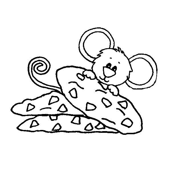 Give A Mouse A Cookie Coloring Page