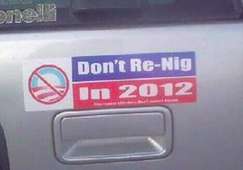 Racial Sticker