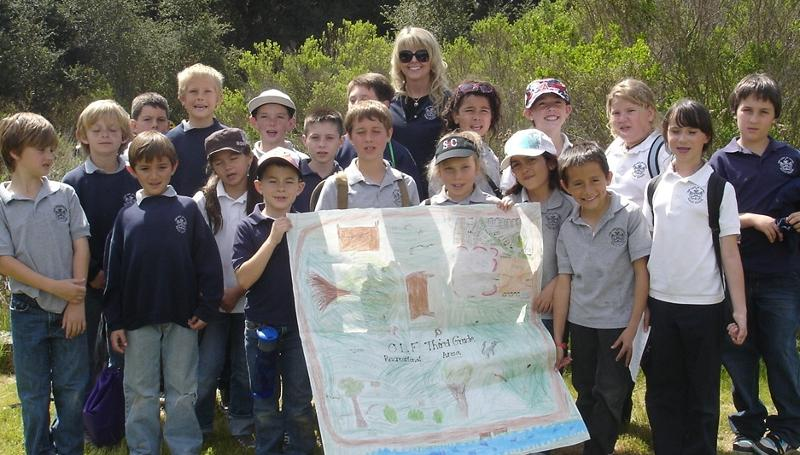 3rd Graders to the Conservancy