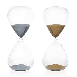 Z-Gallerie Hour Glass