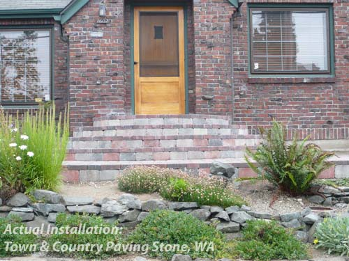 Wrought Iron Steps - Actual