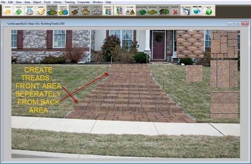 Front Yard Steps - Create Treads