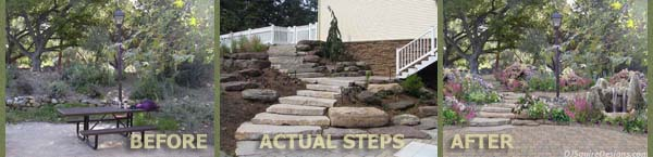 Imaging TIPS Header - Natural Stone Steps