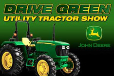 Drive Green Utility Tractor Show