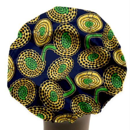 African Oasis Shower Cap