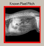 Known Pixel Pitch