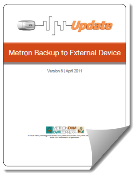 Metron External Backup