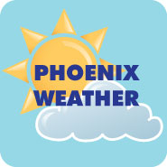 Click for Phoenix weather