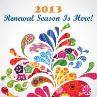 It's membership renewal time!
