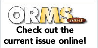 Read the current issue of ORMS Today