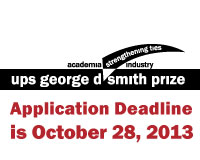Apply for the 2014 UPS Smith Prize