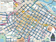 Map of Downtown Minneapolis