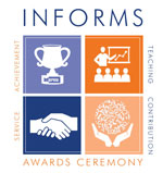 INFORMS Awards Ceremony