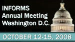 2008 INFORMS Annual Meeting