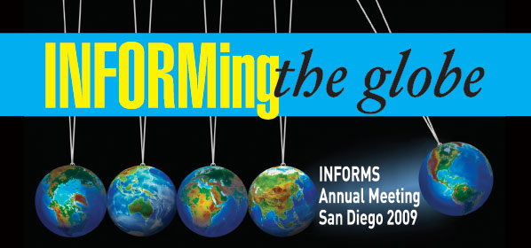 2009 INFORMS Annual Meeting Daily eNews