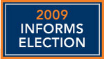 2009 INFORMS Election Results