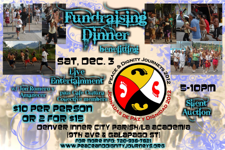 Peace & Dignity Fundraiser