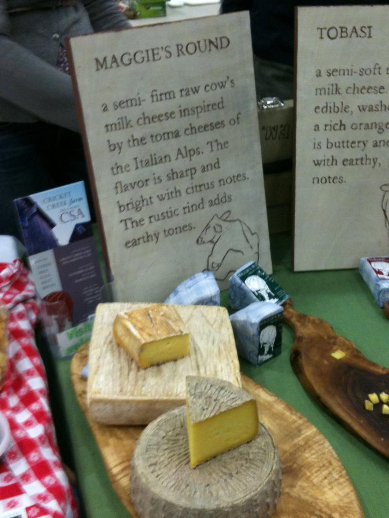HFM 11 Maggie's Round cheese