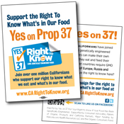 Right to Know Prop 37